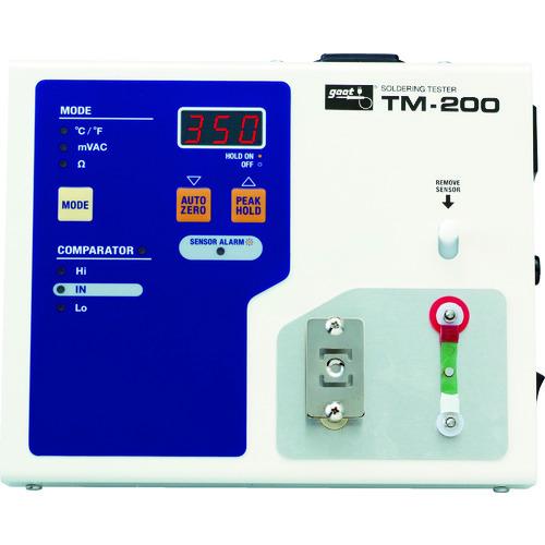 太洋電機産業 コテ先温度計 ■グット TR-4423691 安い はんだこてテスター 通販 品番:TM-200