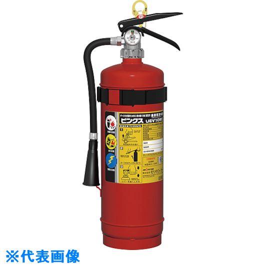 ■MORITA ABC粉末蓄圧式自動車用消火器〔品番:UEV-10MC〕[TR-4473221]