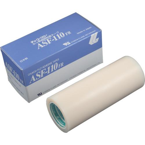 ■チューコーフロー フッ素樹脂(テフロンPTFE製)粘着テープ ASF110FR 0.08t×150w×10m〔品番:ASF110FR-08X150〕[TR-4494440]