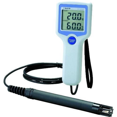 ■佐藤 デジタル温湿度計SK-110TRH2(TYPE1)(8111-00)  〔品番:SK-110TRH2-1〕[TR-4514742]