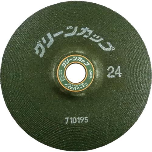 ニューレジストン 研削砥石 ■NRS グリーンカップ ♯24《25枚入》 値下げ 新作 TR-4517482×25 180×6×22 品番:GCP1806-24