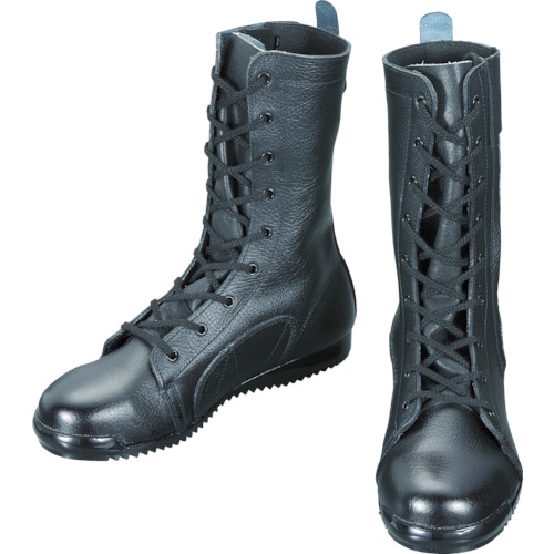 ■シモン 安全靴高所作業用 長編上靴 3033都纏 25.5CM  〔品番:3033-25.5〕[TR-4520351]