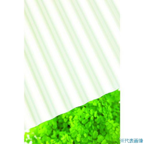 ■タキロン ポリカ波板 32波 6尺 740ミルク 10枚入 〔品番:217606〕直送[TR-4531639×10]【大型・重量物・送料別途お見積り】
