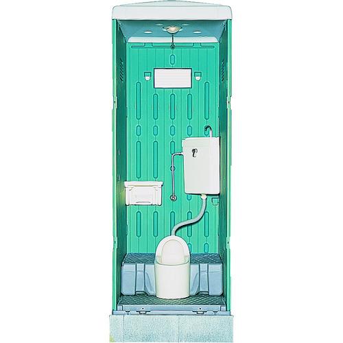 ?日野 水洗式トイレ和式 グリーン 〔品番:GX-AS-GN〕直送[TR-4533381]【大型・重量物・送料別途お見積り】