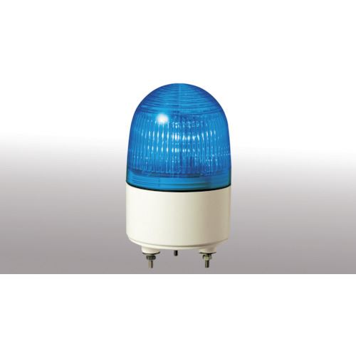 ■パトライト 小型LED表示灯 色:青  〔品番:PES-200A-B〕[TR-4538404]