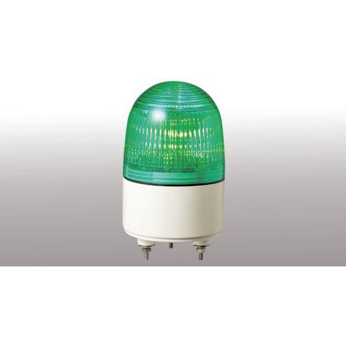 ■パトライト 小型LED表示灯 色:緑  〔品番:PES-24A-G〕[TR-4538455]