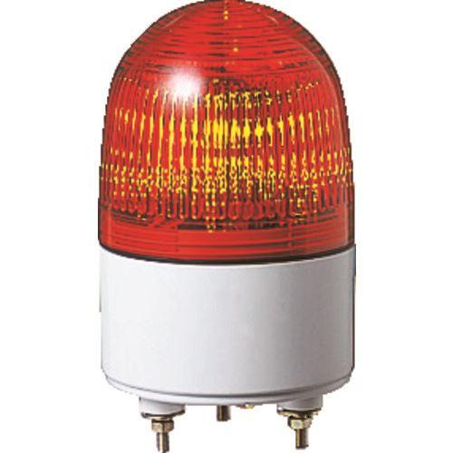 ■パトライト 小型LED表示灯 色:赤  〔品番:PES-24A-R〕[TR-4538463]