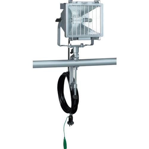 ■ハタヤ 防雨型ハロゲンライト 500W 100V接地付電線5M バイス付  〔品番:PH-505KN〕[TR-4538552]