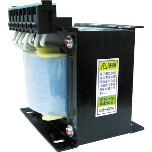 ■CENTER 変圧器 最大電流(A)13.60 容量(VA)1500〔品番:CLB21-1.5K〕[TR-4550617][送料別途見積り][法人・事業所限定][直送]