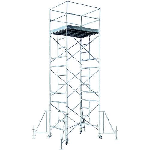 ■アルインコ ローリングタワー3段〔品番:RT3FXZ〕[TR-4555481 ]【大型・重量物・個人宅配送不可】