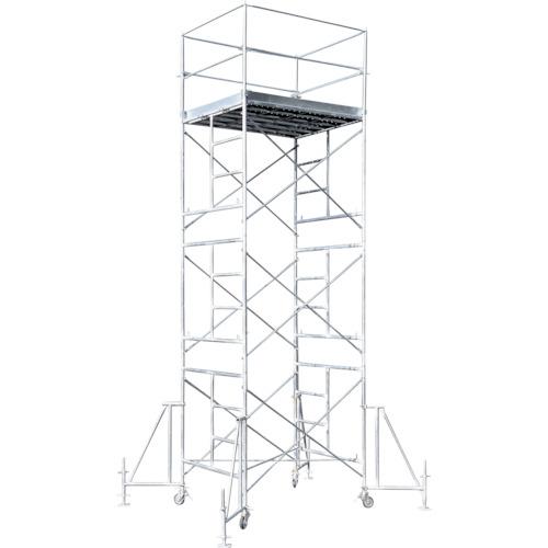 ■アルインコ ローリングタワー5段〔品番:RT5FXZ〕[TR-4555503 ]【大型・重量物・個人宅配送不可】