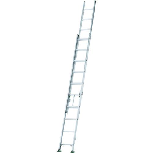 ■アルインコ 2連梯子 全長3.63m~5.36m 最大仕様質量130kg〔品番:SX54D〕[TR-4555775]【大型・重量物・個人宅配送不可】