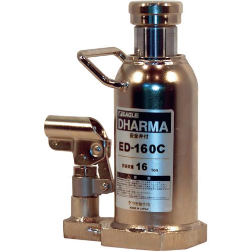 ■イーグル クリーンルームレバー回転油圧ジャッキ能力16T  〔品番:ED-160C〕[TR-4560175]