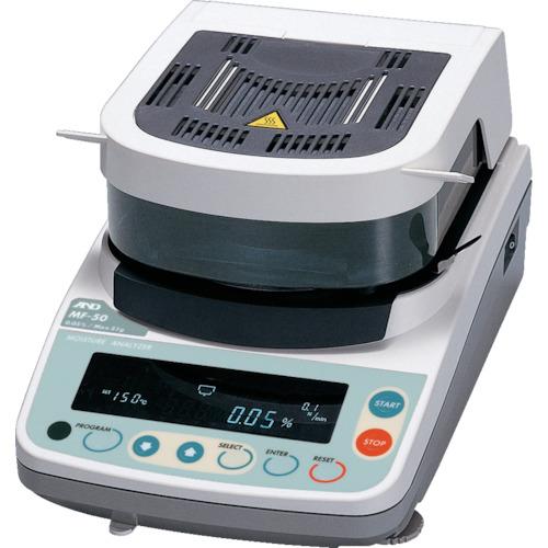 ■A&D 加熱乾燥式水分計 最小質量表示0.002g  〔品番:MF-50〕[TR-4565509]【個人宅配送不可】