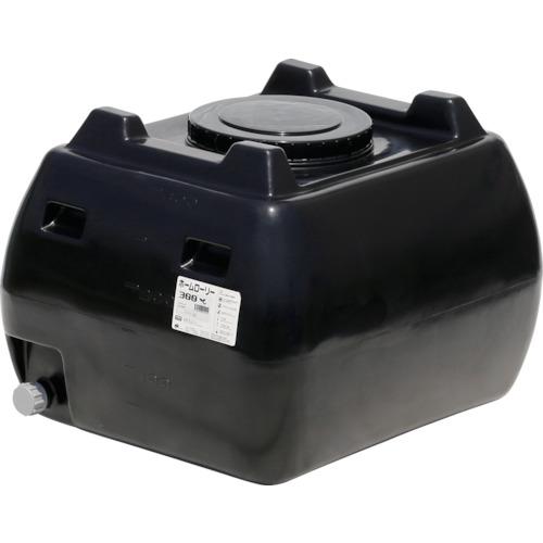 ■スイコー ホームローリータンク300 黒  〔品番:HLT-300(BK)〕[TR-4568753]【大型・重量物・個人宅配送不可】