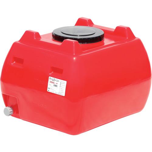 ■スイコー ホームローリータンク300 赤  〔品番:HLT-300(R)〕[TR-4568770]【大型・重量物・個人宅配送不可】