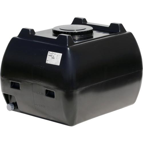 ■スイコー ホームローリータンク500 黒  〔品番:HLT-500(BK)〕[TR-4568796]【大型・重量物・個人宅配送不可】