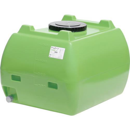 ■スイコー ホームローリータンク500 緑  〔品番:HLT-500(GN)〕[TR-4568800]【大型・重量物・個人宅配送不可】