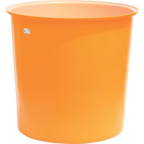 ■スイコー M型丸型容器1000L  〔品番:M-1000〕[TR-4569342]【大型・重量物・個人宅配送不可】