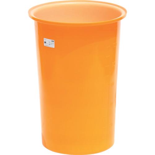 ■スイコー M型丸型容器130L  〔品番:M-130〕[TR-4569377]【大型・重量物・個人宅配送不可】