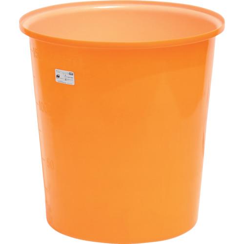 ■スイコー M型丸型容器150L  〔品番:M-150〕[TR-4569393]【大型・重量物・個人宅配送不可】