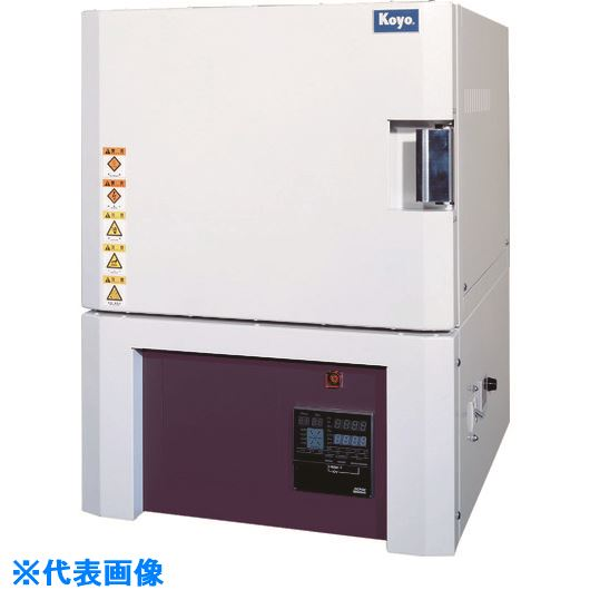 ■光洋 小型ボックス炉 1700℃シリーズ 高性能プログラマ仕様〔品番:KBF314N1〕[TR-4586531 ]【大型・重量物・個人宅配送不可】