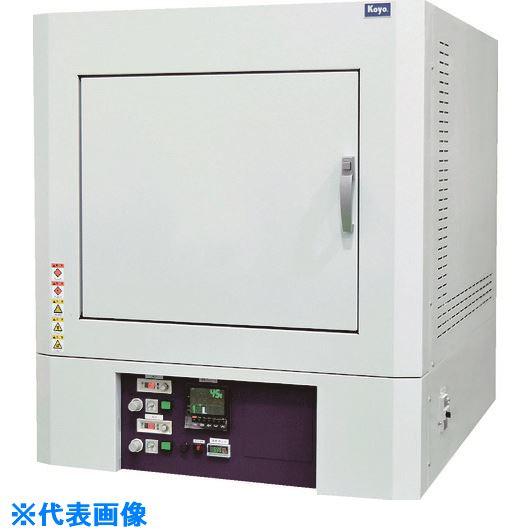 ■光洋 小型ボックス炉 1250℃シリーズ プログラマ仕様〔品番:KBF442N1〕[TR-4586557 ]【大型・送料別途お見積り】