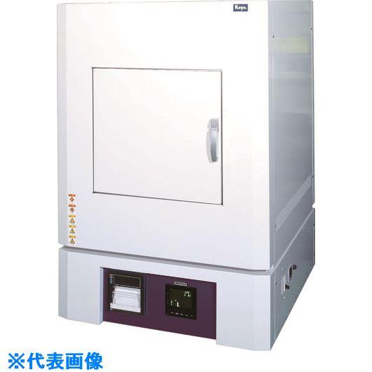 ■光洋 小型ボックス炉 1500℃シリーズ プログラマ仕様〔品番:KBF663N1〕[TR-4586590 ]【大型・重量物・個人宅配送不可】