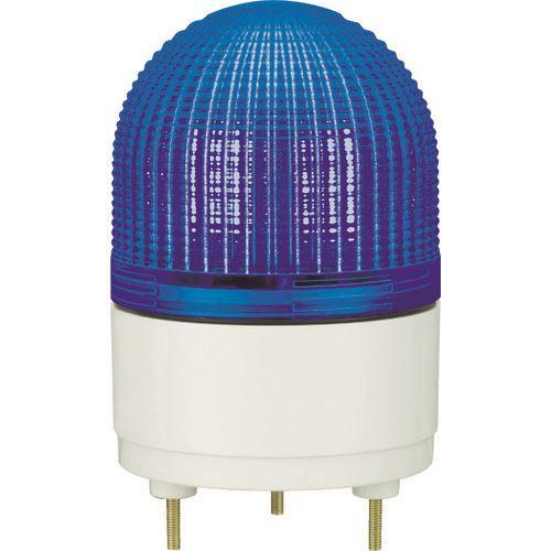 ■パトライト KHE型 LED表示灯 Φ100 点滅・流動・ストロボ発光 青  〔品番:KHE-24-B〕[TR-4591062]