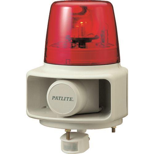■パトライト 電子音報知器 センサー付回転灯 赤〔品番:RTS-100F-R〕[TR-4591186]