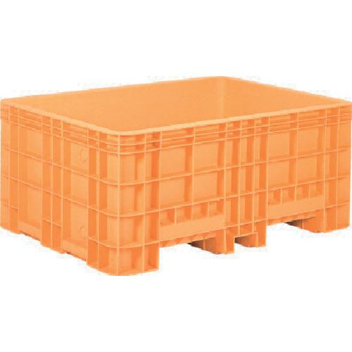 ■サンコー 超大型コンテナー ジャンボックス#1000(本体) オレンジ  〔品番:SK-1000-OR〕[TR-4593782]【大型・重量物・送料別途お見積り】