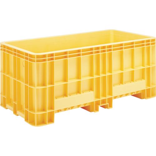■サンコー 超大型コンテナー ジャンボックス#1200(本体) オレンジ  〔品番:SK-1200-OR〕[TR-4593804]【大型・重量物・送料別途お見積り】