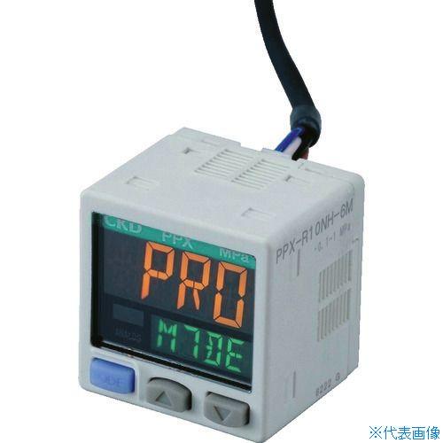 ■CKD デジタル圧力センサ〔品番:PPX-R01N-6M〕[TR-4599535]