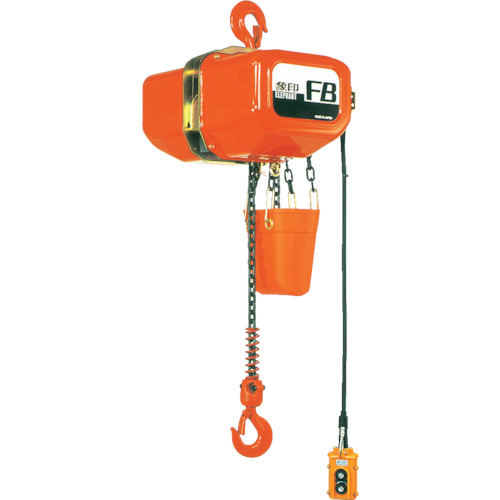 ■象印 FB型電気チェーンブロック1T(2速型)・6M  〔品番:F4-01060〕直送元[TR-4607554]【大型・重量物・個人宅配送不可】