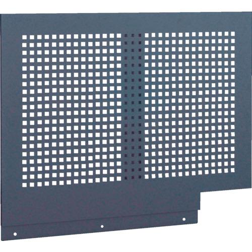 ■TRUSCO TWK型キャビネット用パンチングパネル 黒  〔品番:TWK-900FP〕[TR-4614658]【大型・重量物・個人宅配送不可】