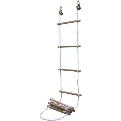 ■高木 避難用縄梯子12MM×5M  〔品番:29-0101〕[TR-4614798]