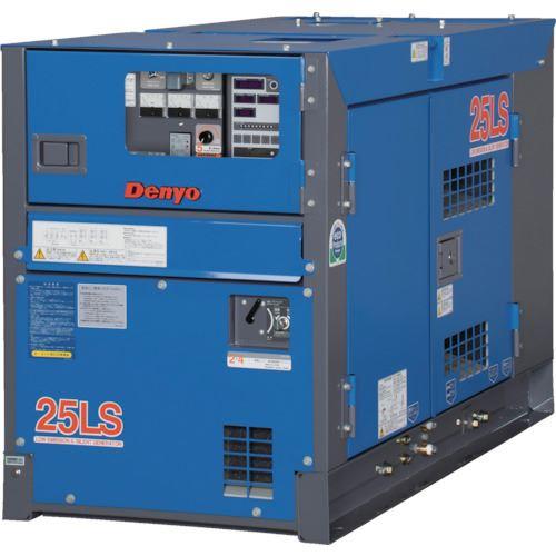 ■デンヨー 防音型ディーゼルエンジン発電機〔品番:DCA-25LSI〕[TR-4625625]【個人宅配送不可】