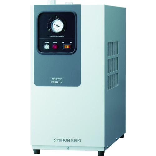 ■日本精器 高入気温度型冷凍式エアドライヤ5HP用  〔品番:NDK-37〕直送元[TR-4635388]【大型・重量物・個人宅配送不可】