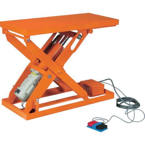 ■TRUSCO スーパーFAリフター750kg 電動式 1500X800〔品番:HFA-75-0815〕[TR-4644361]【個人宅配送不可】