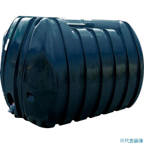 ■ダイライト YB型 黒色 ローリータンク 3000L〔品番:YB3000〕[TR-4649664 ]【送料別途お見積り】