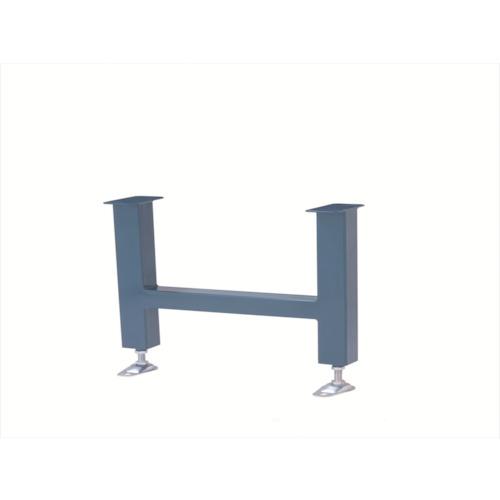 ■三鈴 スチール製重荷重用固定脚 KH型支持脚 幅400 呼寸高800〔品番:KH-4080〕直送[TR-4657659]
