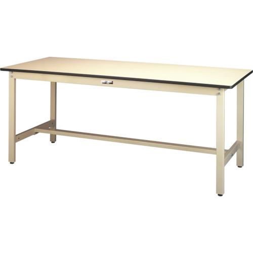 ■ヤマテック ワークテーブル300シリーズ リノリューム天板W1500×D600〔品番:SWR-1560-II〕[TR-4661753]【個人宅配送不可】