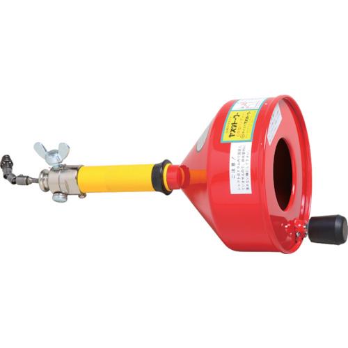 ■ヤスダ 排水管掃除機CR型ハンディ〔品番:CR-8-6〕[TR-4664523]