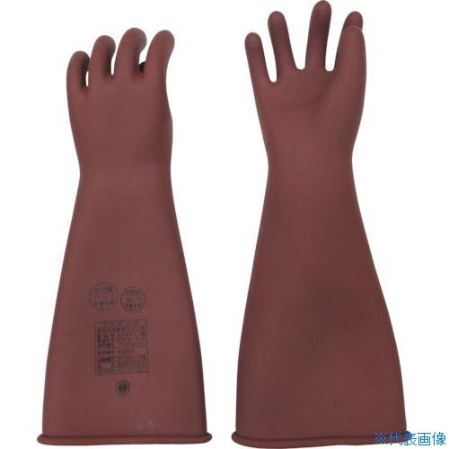 ■YOTSUGI 高圧ゴム手袋 455MM 中〔品番:YS-101-22-01〕[TR-4666046]