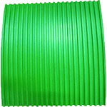 ■YOTSUGI 耐電ゴム板 緑色 B山 6T×1M×1M〔品番:YS-231-02-04〕[TR-4666666]