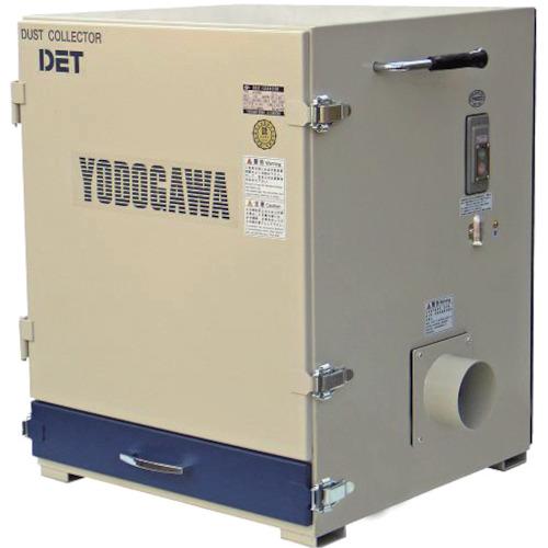 ■淀川電機 カートリッジフィルター集塵機(0.4kW)  〔品番:DET400A〕[TR-4674448]【大型・重量物・個人宅配送不可】