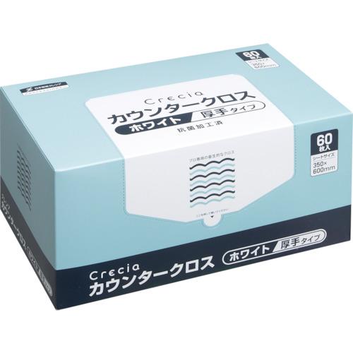 ■クレシア カウンタークロス 厚手タイプ ホワイト〔品番:65302〕[TR-4698720]