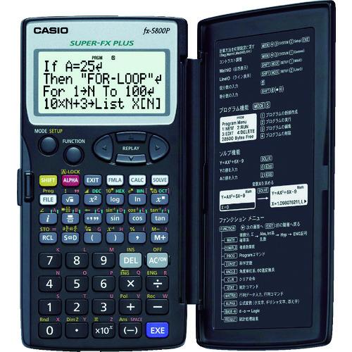■カシオ 関数電卓〔品番:FX-5800P-N〕[TR-4703219]
