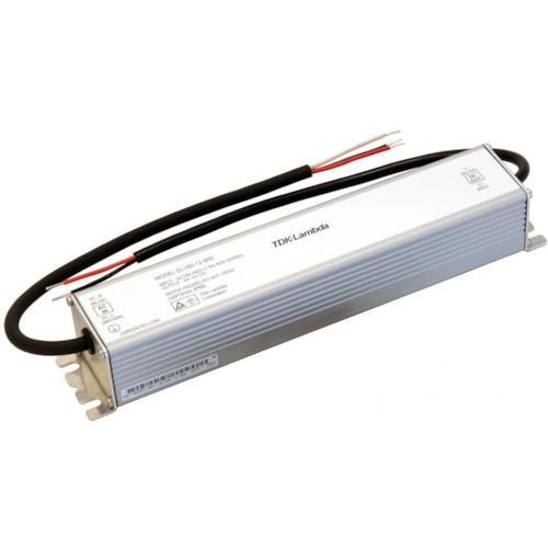 ■TDKラムダ 防塵防滴型LED機器用定電圧電源 ELVシリーズ 24Vタイプ〔品番:ELV90-24-3R8〕[TR-4707150]