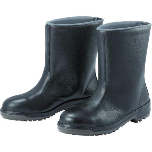 ■ミドリ安全 安全半長靴 26.5cm〔品番:MZ040J-26.5〕[TR-4714172]
